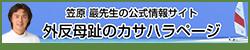 笠原 巖プロフィールサイト  ≫